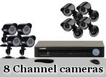 8 Ch DVR & Camera Kits